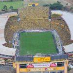 COE nacional aprobó el 30 % del aforo del estadio Monumental para que los hinchas asistan a la revancha de Barcelona SC contra Flamengo por las semifinales de la Copa Libertadores