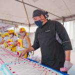 Con éxito se realizó evento torta gigante solidaria